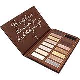 Paleta De Sombras De Ojos Profesionales - Paleta Maquillaje - Altamente Pigmentados 16 Colores Brillantes y Mate