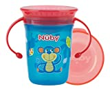 Nuby - Taza Magica 360 con asas 240ml - Agua