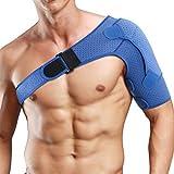 Soporte de hombro para mujeres y hombres, soporte de rotación para la estabilidad, para articulaciones de CA dislocadas, bursitis, tendinitis, manga de compresión para hombro