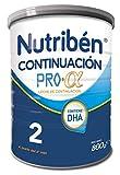 Nutribén Continuación ProAlfa 2 Leche en polvo de Continuación para bebés- de 6 a 12 meses- 1 unidad 800g