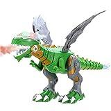 Akemaio Niebla de pulverización Robot de Juguete dragón Dinosaurio niños Caminando de respiración del Fuego del Aerosol de Agua con Luces y Sonidos