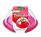 Joie Kitchen Gadgets 067742-330222 Cápsula de tomate transparente, plástico, Rojo
