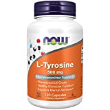 Now Foods L-Tyrosine 500mg Standard - 120 Cápsulas
