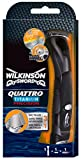 Wilkinson Sword Quattro Titanium Precision - Maquinilla de afeitar (1 cabezal)