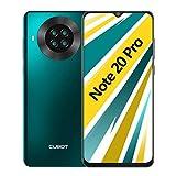 CUBOT Note 20 Pro Teléfono móvil, 6,5 Pulgadas HD+ Pantalla, 6 GB RAM + 128 GB ROM, Octa-Core Procesador Helio P60, Android 10.0, 4200 mAh, Cuatro Cámara, Dual SIM, NFC, Face ID, Verde