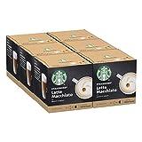 STARBUCKS Latte Macchiato De Nescafe Dolce Gusto Cápsulas De Café 6 X Caja De 6+6Unidades