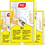 PIC Trampa para Polilla de despensa 6X Piezas - Medios de protección contra Las polillas en la Cocina y el Almacenamiento de Alimentos
