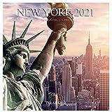 Draeger – Calendario de pared, grande, de Nueva York 2021 – Diseño mensual – 7 idiomas – Certificación FSC Mixto – Tinta vegetal – Calendario 2021 de pared – Formato grande de 29 x 29 cm