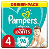 Pampers 81713149 - Baby-dry pants pantalones, unisex