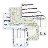 Loweé Funda para mopa (40 cm, 40 cm, 1 algodón y 2 microfibra Premium).
