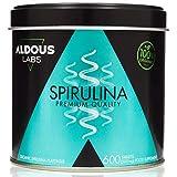 Espirulina Ecológica Premium para 18 Meses   600 comprimidos de 500mg con 99% BIO Spirulina   Vegano - Saciante - DETOX - Proteína Vegetal   Certificación Ecológica (1 x 600 Comprimidos)