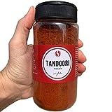 Tandoori Masala TodoEspecias, Sin gluten, sin sal ni aditivos, Bote especiero con 2 dosificadores - 160g
