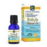 Nordic Naturals Baby'S Vitamin D3, 400 Ui - 11 Ml. 1 Unidad 60 g