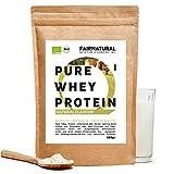 Proteína Whey en polvo de Suero Neutra/Natural ORGANICA sin soja - Batidos de proteína'certificado orgánico' 650g Organic Whey Protein