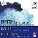 Barber: Adagio for Strings Op.11 / String Quintet in F Major
