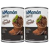 BiManán Pro - Batido Eco Chocolate, Pack de 1080 grs en Total - Batidos Sustitutivos de Comida - Hipocalórico e Hiperproteico con Vitaminas y Minerales - Batidos para Adelgazar Bajos en Grasas