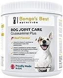Mayfair Nutrition Cuidado de Las articulaciones de Perros de Bongo's Best – Suplemento de glucosamina y mejillón de Labio Verde de máxima Calidad para Perros de Todo tamaño y Edad