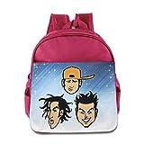 D2Cool American Rock Band Jefes niño mochila azul eléctrico para niños de 3–6años de edad rosa rosa talla única