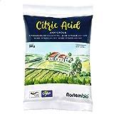 Nortembio Ácido Cítrico 500 g. Polvo Anhidro, 100% Puro. para Producción Ecológica.