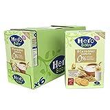 Hero Baby - Papilla de 8 Cereales con Galleta sin Azúcares Añadidos, para Bebés a Partir de los 6 Meses - Pack de 6 x 340 g