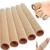Protectores tubulares de silicona para dedos de las manos y los pies, 5 unidades