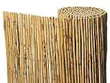 Gardeneas Cañizo Natural Bambú Fino 2x5 Metros