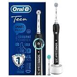 Oral-B SmartSeries Teen Boys Sensi Ultrathin - Cepillo eléctrico recargable con tecnología de Braun, 1 mango, 3 modos incluyendo blanqueado y sensible y 2 cabezales de recambio