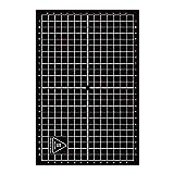 UKCOCO Etiqueta engomada de la superficie resistente al calor reutilizable impresa coordinada de la cama caliente de 200x300mm para la impresora 3D