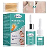 Removedor de verrugas, Eliminar Verrugas, Eliminar Durezas Y Callos, Tratamiento de verrugas Líquido eliminador de verrugas, Kit Para Eliminar Verrugas