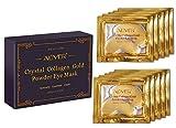 24k Gold Collagen Eye Mask, 10 Pares Eye Mask, Hidratante Debajo De Las Arrugas De Los Ojos, Quitar Bolsas Para Los Ojos, CíRculos Oscuros, Ojos Hinchados