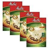 Melitta - Juego de 4 filtros de café intenso, tamaño 1 x 4, 80 unidades