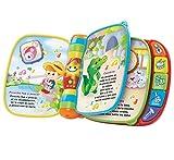 VTech - Primeras canciones, libro interactivo para bebé +6 meses con las canciones infantiles más populares, aprende instrumentos, sonidos y notas musicales, multicolor (80-166722)