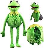 LUOWAN Kermit The Frog Marioneta De Mano De Juguete Rana De Peluche Suave Muppet Show Dolls Los Mejores Niños 60CM/A