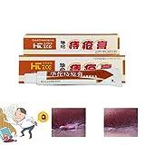 25g Hua Tuo hemorroides pomada planta a base de hierbas naturales crema para las hemorroides crema anal para las hemorroides internas Pilas de fisura anal externa