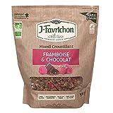 Favrichon Crunchy Muesli Frambuesa y Chocolate 500 g