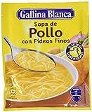 Gallina Blanca Sopa Deshidratada de Pollo con Fideos Finos, 71g