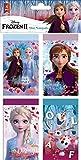 8 mini cuadernos compatibles con Disney Frozen 2 La Reina del Hielo | Regalo para niña | Anna y Elsa | My Destinys Calling | Bloc de notas | Juego de 8