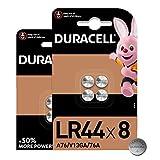 Duracell - Pilas especiales alcalinas de botón LR44 de 1,5V, paquete de 8 unidades (76A/A76/V13GA) diseñadas para su uso en juguetes, calculadoras y dispositivos de medición
