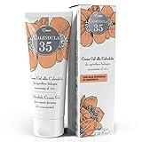 Dulàc - Crema de caléndula concentrada al 35% - 75 ml - Nutre, hidrata y protege la piel - Para el cambio de pañal - 100% Made in Italy - Calendula 35