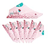 Pipilady 7 unidades de orina de cartón para mujeres para orinar de pie