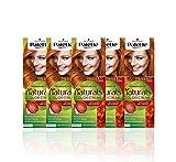 Schwarzkopf Palette Naturals - Tinte 8.77 cabello Cobrizo Intenso - Coloración Permanente – Perfecta cobertura de canas – Colores increíblemente naturales (Pack de 5)
