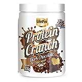 Life Pro Fit Food Protein Crunch 500g. Cereales Proteicos. Bolitas de Proteína Varios sabores. Bajo en Hidratos. Cuida tu alimentación. Hecho en España. (DARK CHOCOLATE)