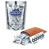 lapurete de Paquete de 5 Gramos de 50 Paquetes de Gel de sílice desecante Deshumidificadores (regeneración)