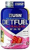 USN Dieta Combustible Fresa Ultralean Control De Peso Y Sustituto De La Comida Polvo 2500 g