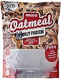Prozis Oatmeal con Whey Protein 1000g - Cereales Repletos de Hidratos de Carbono de Alta Calidad y Fibras Saciantes -Sabor Pepitas de chocolate -Apto para Vegetarianos - Cardiosaludable -12 Dosis
