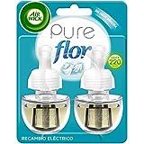 Air Wick Eléctrico Recambios de ambientador automático eléctrico, esencia para casa con aroma a Ropa Limpia Flor - 2 unidades