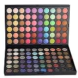 LAEMALLS 120 colores Paleta de Sombra de Ojos, Shimmer Glitter Brillo Mate Satinados Eyeshadow Maquillaje Set, Mezclable Profesional para ojos seductores#3
