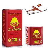Pimentón de La Vera Ahumado pack La Chinata lata Dulce 750g y lata picante 70g.