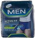 Tena Active Fit - Pantalones para hombre (talla mediana)