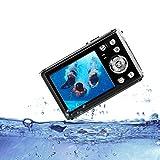 HG8011 Cámara Digital a Prueba de Agua/Zoom Digital 8X/ 12 MP/ 1080P FHD/Pantalla LCD TFT de 2,31'/ Cámara subacuática para niños/Adolescentes/Estudiantes/Principiantes/Los Ancianos